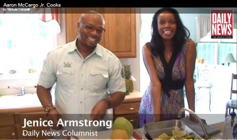 "Aaron ""Big Daddy"" McCargo Jr. Cooks with Jenice"